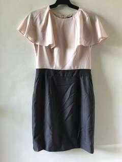 G2000 Blush and Gray Corporate Dress