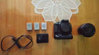 Canon T4i plus accessories and Rokinon 16mm f2.0