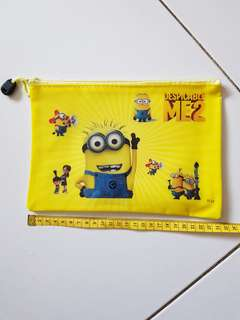 Despicable Me Minion Plastic Pouch
