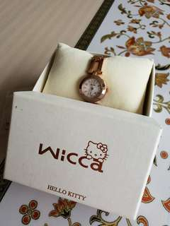 Hello Kitty Wicca Rose Gold Watch