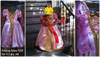 Pink Gown used as UN Costume Ms. France