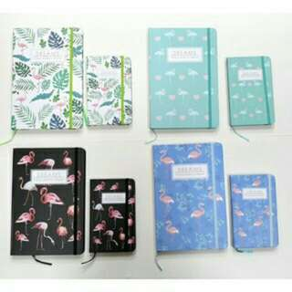 FLAMINGO HARD BOUND NOTEBOOK