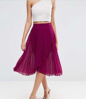 Like new ASOS pleated skirt