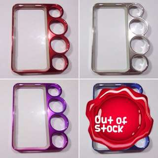 iPhone 4/4s Knuckle Hard Case