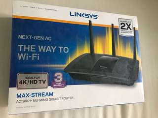 Lynksys AC1900+ Wireless Router