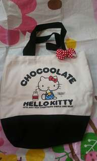 Hello Kitty chocoolate  Tote Bag