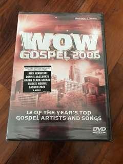 🚚 Wow gospel 2006 dvd