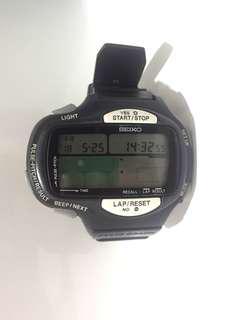 SEIKO DIGITAL VINTAGE LCD   PROA-4A20. PULSE GRAPH. CHRONOGRAPH.       V.V.RARE*