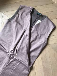 全新 Kate Spade Saturday Vest Allover Jumpsuit 西裝型背心連身褲