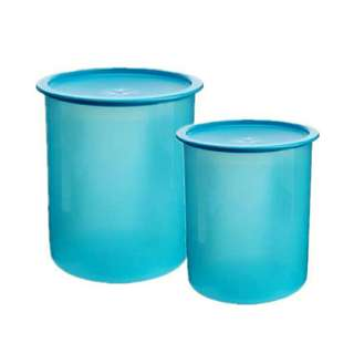 💥BIG SALE💥Tupperware One Touch Canister Medium(1) 3L + Small(1)2L