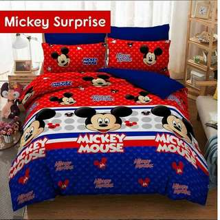 🚚 Mickey Mouse Bedsheet