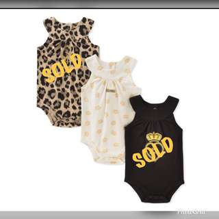 🚚 *9M* Brand New Juicy Couture Bodysuits For Baby Girl #CarouPay