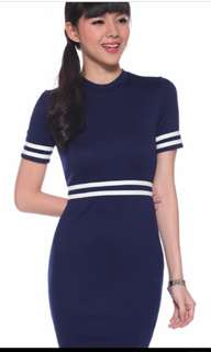Petite Diondra Varsity Dress