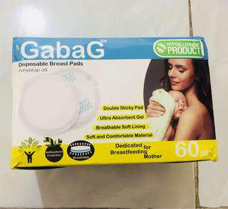 Breast pad gabag
