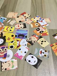 🌟BN INSTOCK Assorted Cartoon Animation Stickers Box Pack