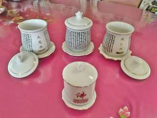 Fo Tea set (chinese)