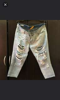 Authentic H&M Super Ripped Tokong