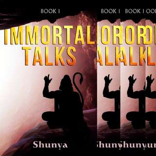 PREORDER!! - Immortal Talks  - Shunya (Best Seller)