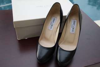 SECOND Authentic Jimmy Choo Pump Black Size 36