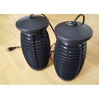 Electric mosquito LED bug zapper