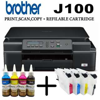 BROTHER J100 MULTIFUNCTIONAL PRINTER! ONSALE!