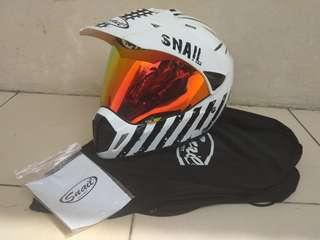 Helm Snail Supermoto Mx 311 Impor Thailand