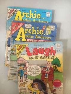 Archie comes
