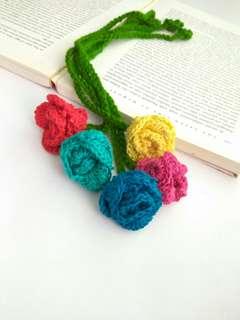Rose bookmarks