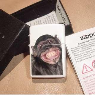 美國ZiPPO打火機 28661 Monkey Crown