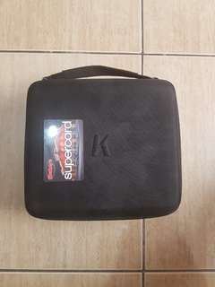 Khanka Travel Hard Case * card for scale*
