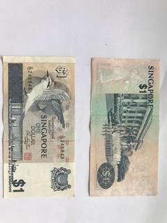 Singapore One Dollar