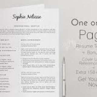 Resume Writing (Dapat Kerja Cepat!!!)