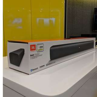 JBL Bar Studio 2.0 Soundbar with Bluetooth
