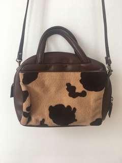 Printed Brown/Cream Bag