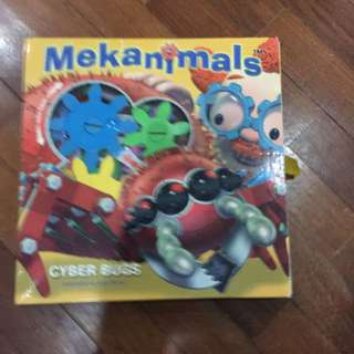 Pre-loved mekanimals gears book