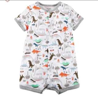 🚚 *24M* BN Carter's Snap Up Cotton Romper For Baby Boy