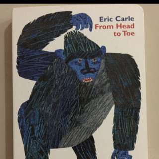 From Head To Toe Children's Book By Eric Carle
