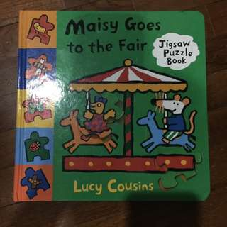 Pre-loved maisy goes to the fair puzzle book