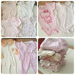 Nb-9mo $10 bundle rompers (8 pieces)