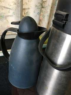 Kettle hot water dispenser