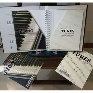 Piano Keyboard Music Books and DVD's