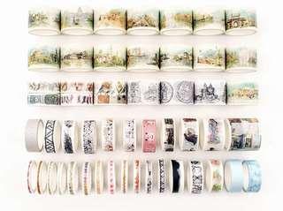 🚚 [PO] 50 rolls washi tape set