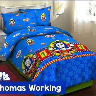 🚚 Thomas and Friends Bedsheet (Thomas Working)