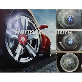 New LED Car Center Wheel Cap lighted Logo for Honda and VW and Toyota