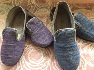 Bundle SALE  soft cotton slip- on shoes