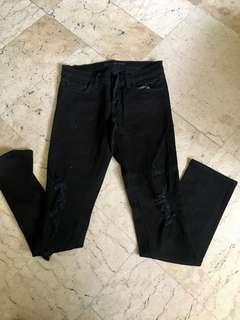 J.Brand skinny tattered Pants