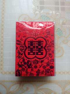 囍字結婚回禮用細利是封(50個) • Red pockets for wedding(50pieces)