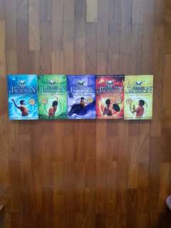 Percy Jackson Full Set by Rick Riordan