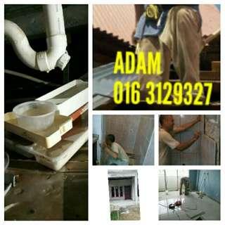 Tukang paip & memperbaiki atap bocor area kelana jaya 0164129327