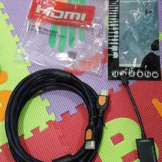 Paket Hemat Conector HP to TV/Projector Via HDMI